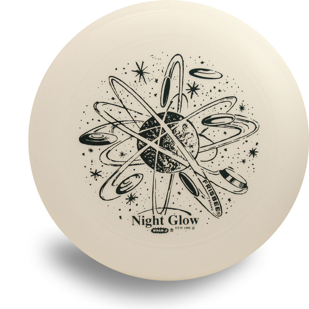 Wham-O GLOW UMAX FRISBEE åäÌÝÌÕ Glows in the Dark! Flying Disc