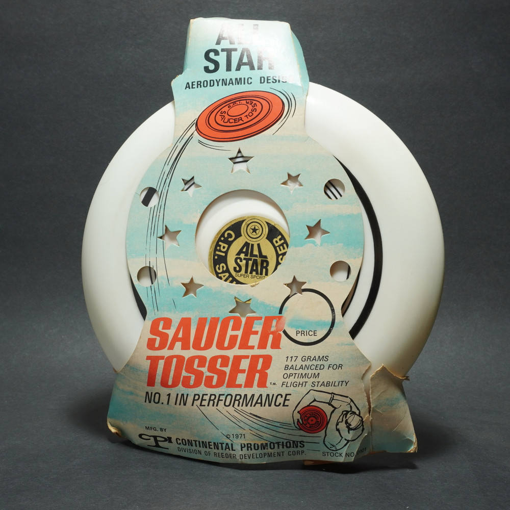 C.P.I. - Packaged All Star Saucer Tosser