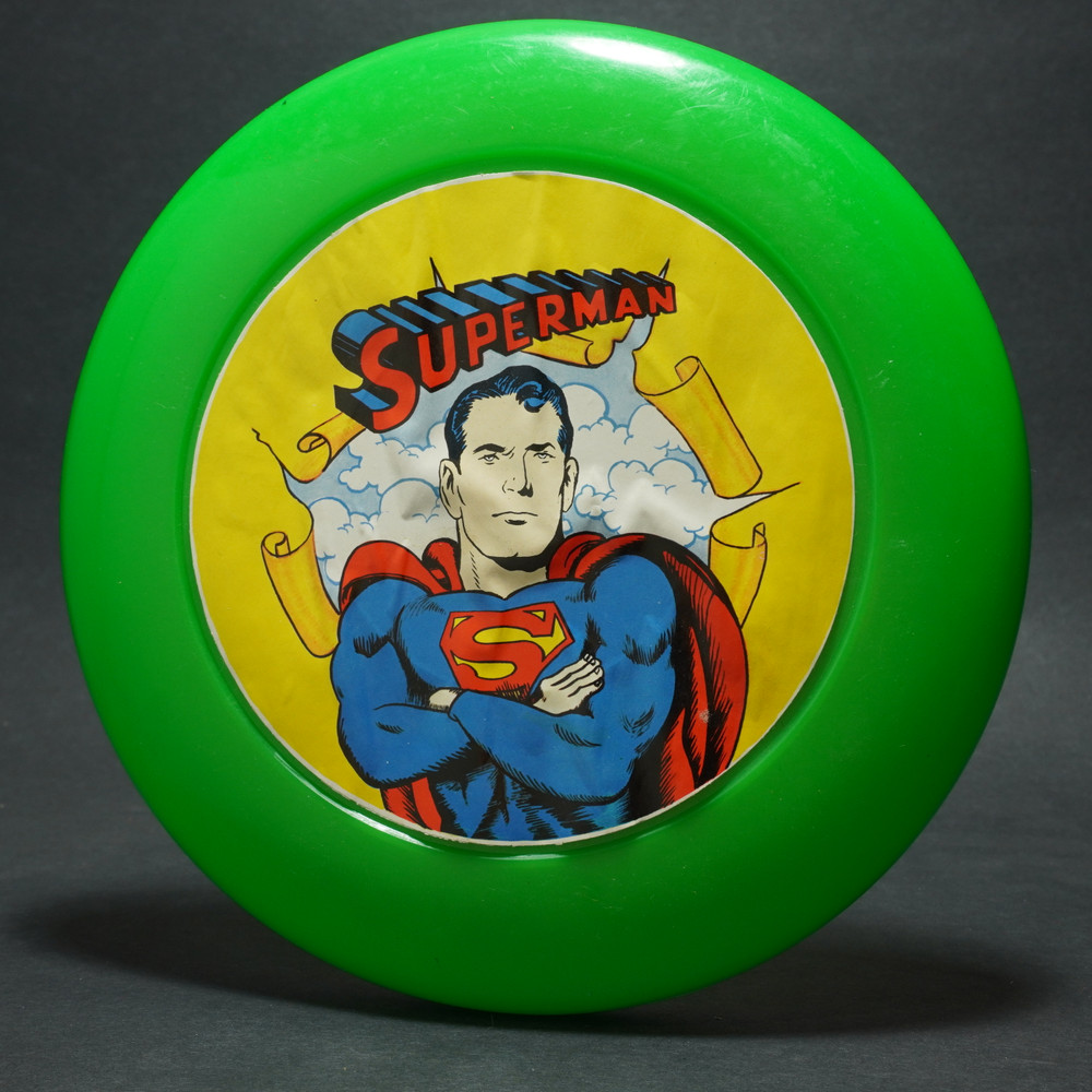 SuperMan Flyer - Paper Label