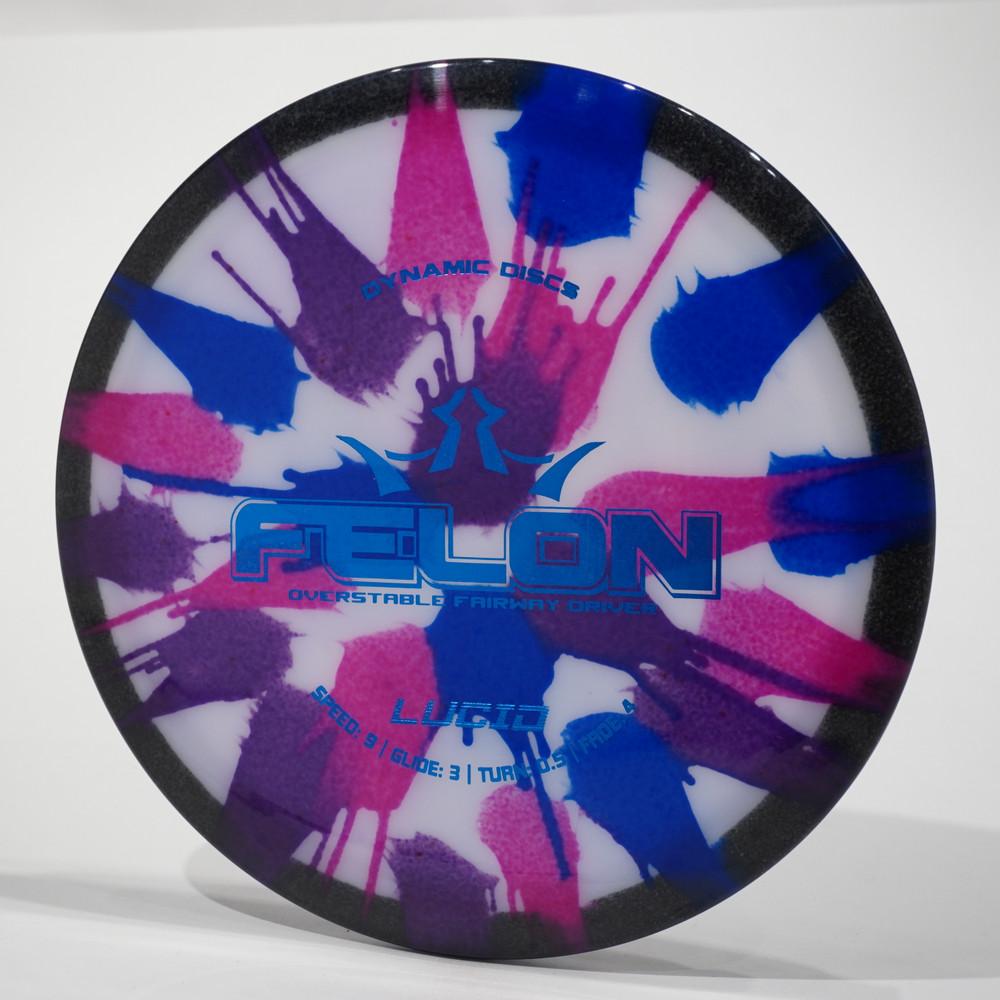 Dynamic Discs Felon (Lucid) - MyDye Tie Dye