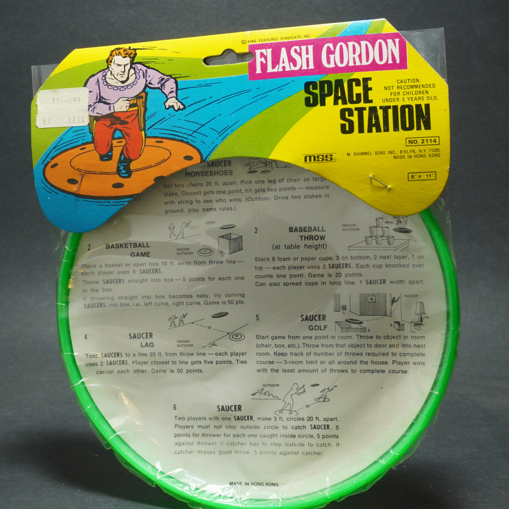 Flash Gordon Space Station - Packaged