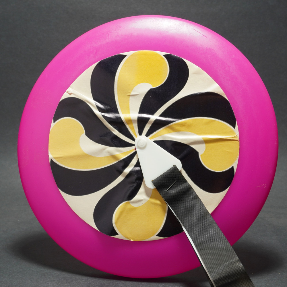 Eagle Rubber Psychedelic Flyer w/ Tail - Pink 2