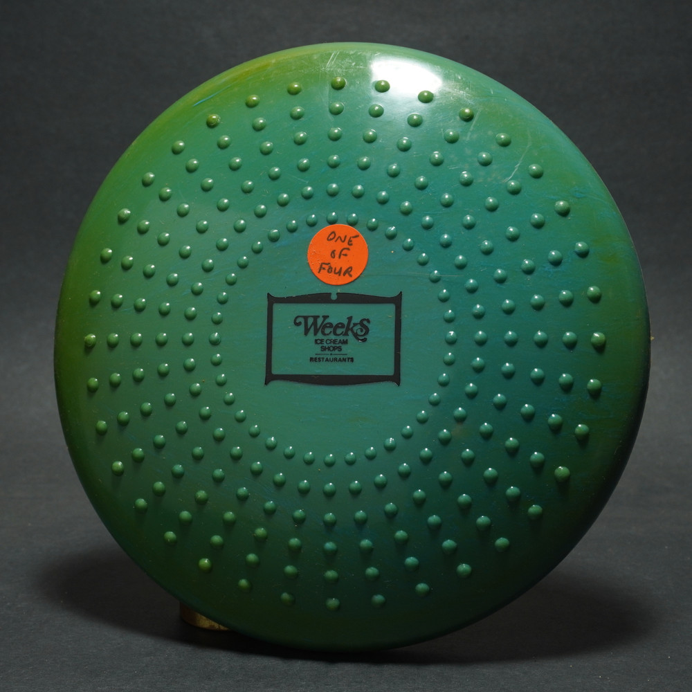 Flying Sun Saucer M-1 Toys - Printed w/ Weeks Ice Cream