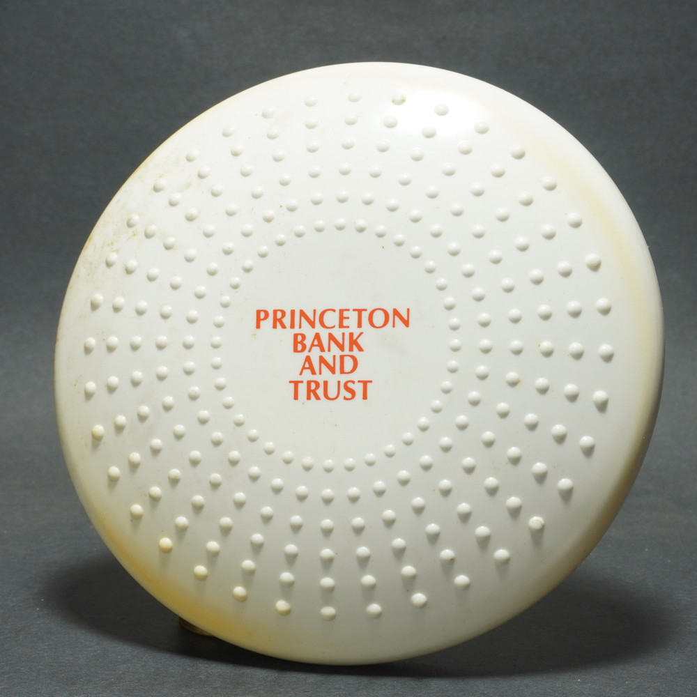Flying Sun Saucer M-1 Toys - Printed w/ Princeton Bank & Trust