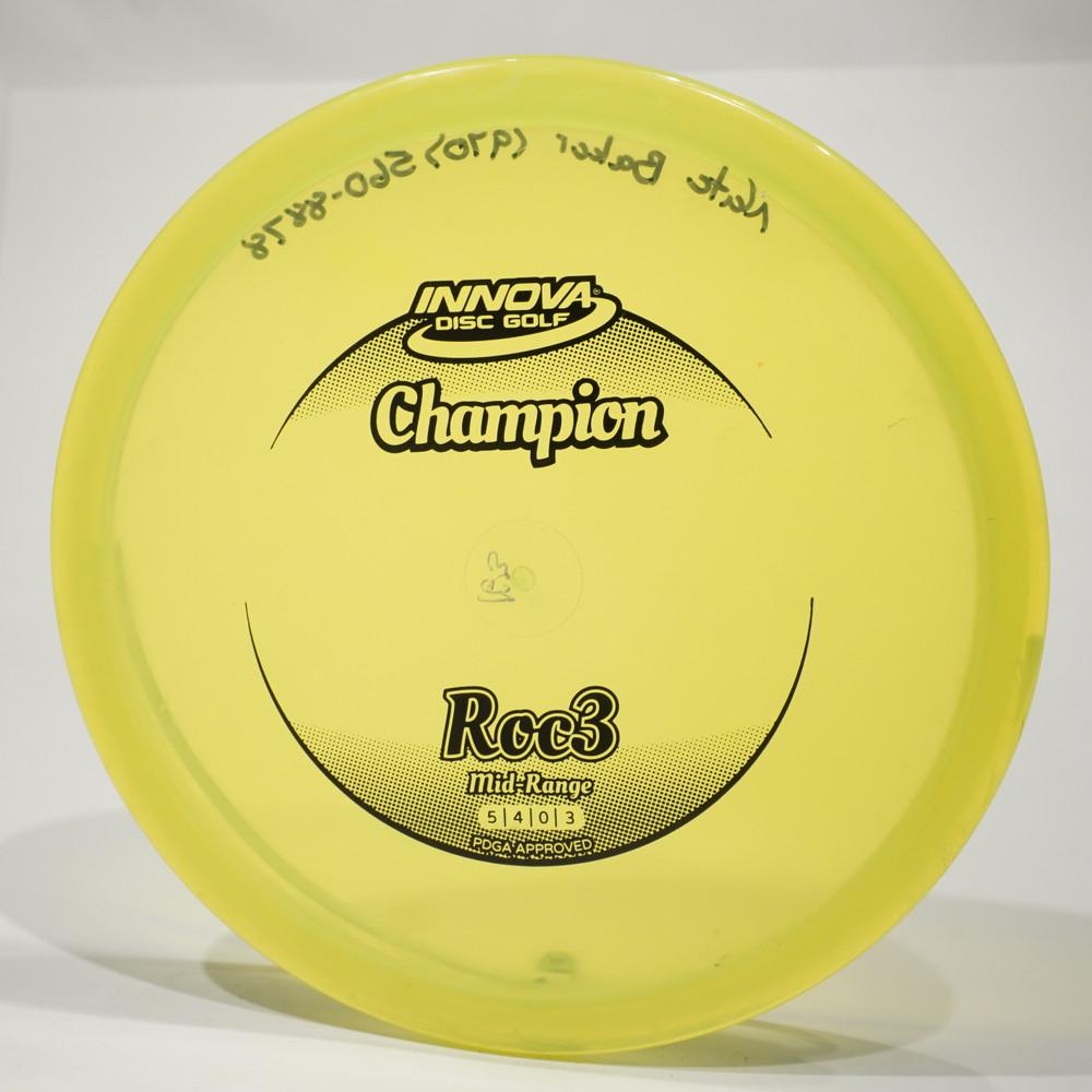 Innova Roc3 (Champion) - Used