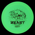 Innova DX GLOW BEAST - Glow in the Dark Driver - front view with red stamp glow
