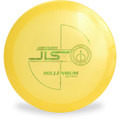 Millenium Q JLS Disc Golf Driver Yellow Top View