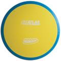 INNOVA XT PRO ATLAS DISC GOLF MID-RANGE OVERMOLD, yellow/blue