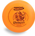 Innova DX Dragon Disc Golf Driver Floats in Water! Front View orange