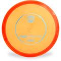 Discmania C-LINE MD Mid-Range Golf Disc Orange Front View