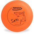 Innova DX SHARK Mid-Range Golf Disc Orange Top View