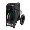 ZUCA ALL TERRAIN DISC GOLF CART - Gunmetal/Black Frame