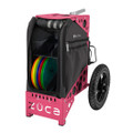 ZUCA ALL TERRAIN DISC GOLF CART - Gunmetal/Pink Frame
