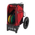 ZUCA ALL TERRAIN DISC GOLF CART - Infrared/Black Frame