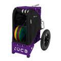 ZUCA ALL TERRAIN DISC GOLF CART - Onyx/Purple Frame
