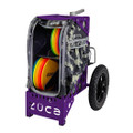 ZUCA ALL TERRAIN DISC GOLF CART - Anaconda/Purple Frame