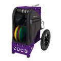 ZUCA ALL TERRAIN DISC GOLF CART - Gunmetal/Purple Frame