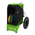 ZUCA ALL TERRAIN DISC GOLF CART - Covert/Green Frame