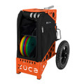 ZUCA ALL TERRAIN DISC GOLF CART - Onyx/Orange Frame