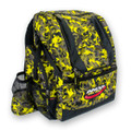 Yellow Camo HEROPACK INNOVA DISC GOLF BACKPACK BAG - HOLDS 25 DISCS