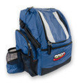 Blue HEROPACK INNOVA DISC GOLF BACKPACK BAG - HOLDS 25 DISCS