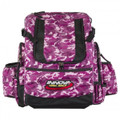 Pink Camo HEROPACK INNOVA DISC GOLF BACKPACK BAG - HOLDS 25 DISCS