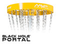 MVP BLACK HOLE PORTAL DISC GOLF BASKET