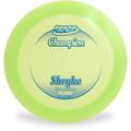 Innova CHAMPION SHRYKE Disc Golf Driver Green Top View