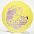 Discraft Big Z Vulture Yellow Top View