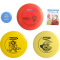 Innova Complete Advanced Disc Golf Gift Set - 2 Drivers, Mid-Range, Putter + Mini Marker Disc and Rules