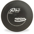 Innova KC PRO ROC Disc Golf Approach Disc - front view black with white stamp