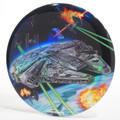 Discraft FULL FOIL STAR WARS BUZZZ - Millenium Falcon Plain Prism Foil