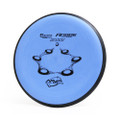 MVP ELECTRON FIRM ANODE PUTTER AND APPROACH GOLF DISC - blue front view