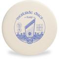 Westside Discs BT HARD HARP Disc Golf Putter - front view white