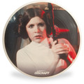 Discraft ULTRA-STAR - Star Wars Series SuperColor Ultimate Frisbee Disc - Princess Leia - Top View