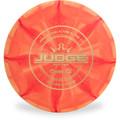 Dynamic Discs CLASSIC BURST JUDGE Disc Golf Putter & Approach - front view orange