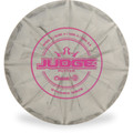 Dynamic Discs CLASSIC BURST JUDGE Disc Golf Putter & Approach - front view gray