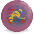 Innova STAR LION - INNFUSE GRAPHICS Mid-Range Golf Disc Purple Front View