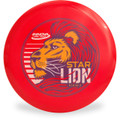 Innova STAR LION - INNFUSE GRAPHICS Mid-Range Golf Disc Red Front View