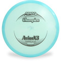 Innova CHAMPION AVIARX3 Disc Golf Putter and Approach Blue Front View
