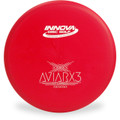 Innova DX AVIARX3 Disc Golf Putter and Approach Red Front View
