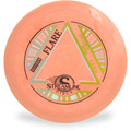 Streamline NEUTRON FLARE Disc Golf Driver - front view of salmon disc