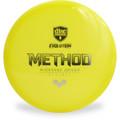 Discmania Evolution NEO METHOD Mid-Range Golf Disc Yellow Top View