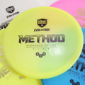 Discmania Evolution NEO METHOD Mid-Range Golf Disc  - five discs of different colors spread out and overlapping