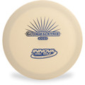 Innova DX GLOW VALKYRIE - OLD STAMP Glow in the Dark Driver (OOP) Front View