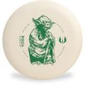 Discraft D CHALLENGER - STAR WARS Design Yoda Disc Golf Putter Front View
