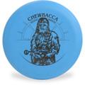 Discraft D CHALLENGER - STAR WARS Design Chewbacca Disc Golf Putter Front View