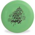 Discraft D CHALLENGER - STAR WARS Design In a Galaxy Far Far Away Disc Golf Putter Front View
