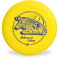 Discraft D CHALLENGER - STAR WARS Design Yellow Millenium Falcon Disc Golf Putter Front View