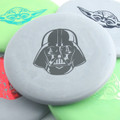 Discraft D CHALLENGER - STAR WARS Design - multiple colors spread out and overlapping 2